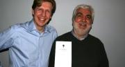 Vincent Arrhenius prisbelönt författare